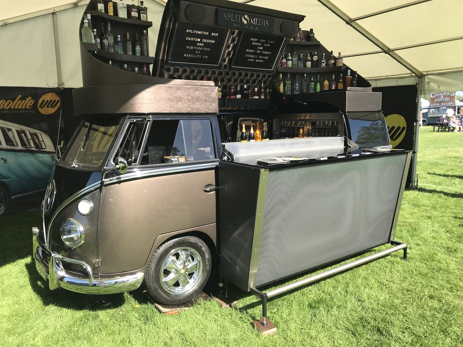 VW Campervan Interior Bar Revamp Specialists CCR Auto Trim