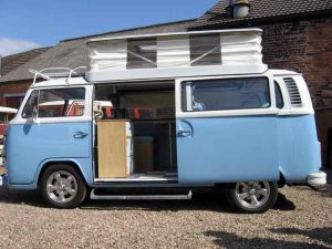 Specialist VW Volkswagen Campervan Wood Cabinets Interiors and Seat Retrim Service CCR Auto Trim