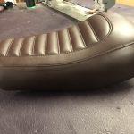 Leather Seat Motorbike Trim Service CCR Auto Trim