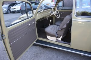 Classic Car Brown Seat Interior Retrim CCR Auto Trim Loughborough