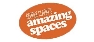 George Clarkes Amazing Spaces Logo