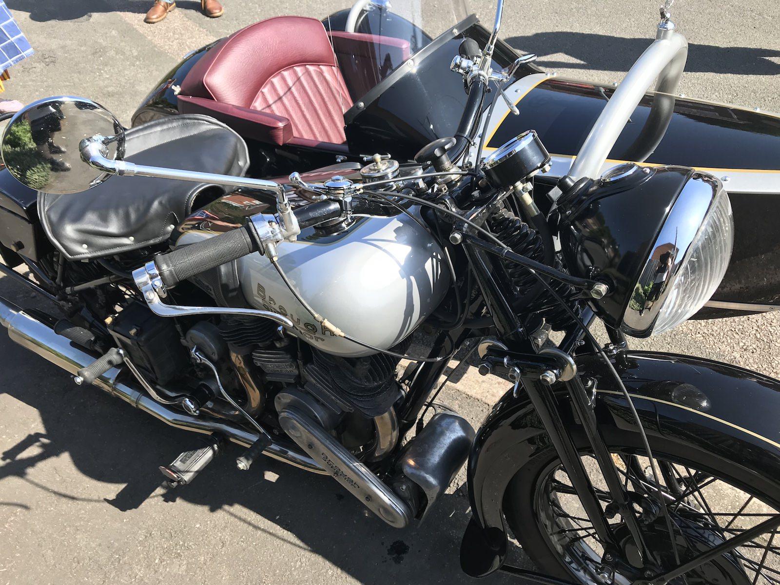 Leather Side Seat Motorbike Trim Service CCR Auto Trim