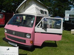 Pink T5 Seat and Interior Retrim CCR Auto Trim Loughborough