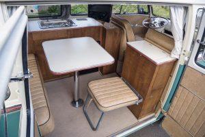 Volkswagen Campervan Split Screen Bus Back Interior Seat Retrim Repair Servcies CCR Auto Trim